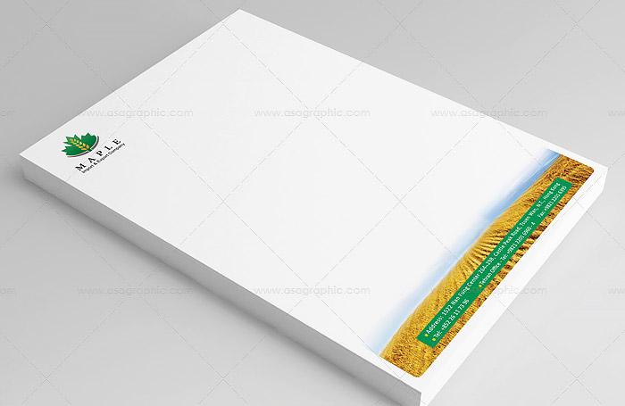maple-letterhead-design-01.jpgطراحی لوگو و طراحی سربرگ اداری شرکت Maple